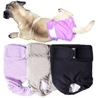 Dog Apparel Pet Physiological Pants Waterproof Menstrual Big Aunt Underpants J7A7573