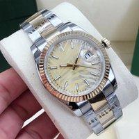 Relojes de pulsera Reloj de moda Pulsera de moda Mujer de negocios Lady's Lady's 36mm Acero inoxidable Doblable Hebilla Mecánica Mecánico Relojes Impermeables Reloj de pulsera