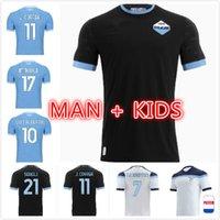 Spielerversion 21 22 Lazio Fußball-Jerseys Sergej 2021 2022 SS F.Caicedo Immobilfußball Hemd Correa Luis Alberto Man Kids Kit