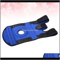 Outdoor Sports Knee Protector Fitness Leg Guards Stretch Sleeve Support For Man Woman Blue Size Elbow Pads Azipd 5Q0Gs