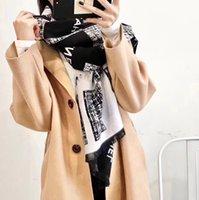 Высокое качество Женский шарф зимний прямоугольный бренд дизайнер бренда кашемировые шарфы большой размер 180x70см нет коробки