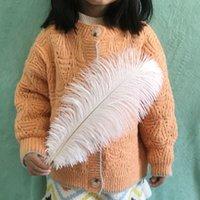 Piume di struzzo da 13,7 a 15.75 pollici o da 35 a 40 cm Piume di struzzo naturale per la decorazione di nozze Modecraft