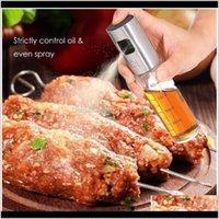 Outras ferramentas 100ml Cozinha Cozinha Spray à prova de vazão BBQ Cozinhar Vidro Pulverizador de óleo Vinagre Frasco Dispenser Cozinheiro Jllczt 36W31 DV59E