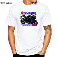 Мужские футболки SUZ GSX-R 1000 SE Мотоциклы Футболка GSXR 2021 Дизайн Мужчины Топы Летние Прохладный Смешной Фитнес