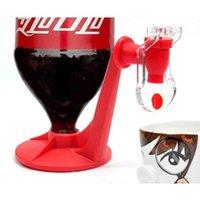 Drinkgereedschap ondersteboven Drinkware Fonteinen Fizz Saver Cola Soda Dranken Schakelaar Drinkers Handdruk Water Dispenser Automatisch