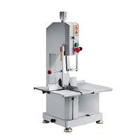 Machine à viande électrique Scie Machine industrielle en acier inoxydable boucherie de poulet de viande de poulet 220V