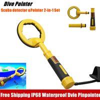 Full Waterproof Pinpointer Pulse Dive Underwater Detector Metal gold Detector 2 System In 1 Treasure Search Machine