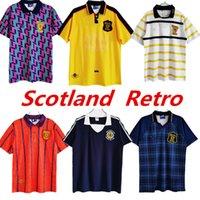 1982 1986 1991 1993 1998 1988 1989 Dünya Kupası Final İskoçya Retro Futbol Forması 91 93 95 96 98 Klasik Vintage Boş Zaman Futbol Gömlek