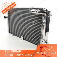 Radiateur pour scout 2021 refroidisseur de refroidissement moto accessoires de rechange en aluminium noir 15 16 17