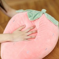 Cushion Decorative Pillow INS Seashells Comfort Pillow, Down Cotton, Pineapple Cushion, Soft Strawberry For Pos