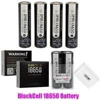 Originale Blackcell IMR 18650 batteria 3100mAh 40A 3.7 V di scarico alto ricaricabile piatto ricaricabile piano vape piatto Mod IMR18650 batterie al litio 100% autentico