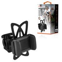 Reiko Universal Bicycle-Telefonhalterung einstellbar Passt Cradle Clamp-Lenker-Halter-HLD20-BK