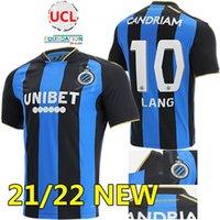 Club Brugge 21-22 Home Soccer Jerseys 2021 2022 Kossounou Mata de Ketelaere Lang Vanaken V.Badji قمصان كرة القدم تايلاند