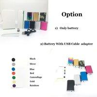 Mini 10W Kit 7 Colors OLED Screen Display Vape Mod Rechargeable 1050mAh battery 510 Thread Vapes Batteries Pen for ego Atomizer delta 8 Cartridges
