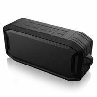 Mini Speakers Wireless Bluetooth Speaker Double Subwoofer Soundbar Waterproof Outdoor Portable Car Radio 3 Color Optional