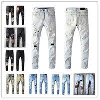 2021 Fashion Skinny Mens Jeans Dritto Slim Elastico Jean Uomini Casual Biker maschile Stretch Denim Pantaloni classici Pantaloni classici Jeans Amir I Dimensioni 28-40