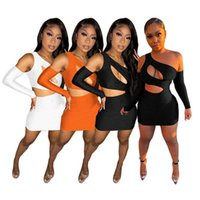 womens dresses one piece set sexy hollow out mini dress high quality elegant club wear women summer clothes