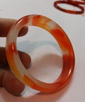 GRÁTIS DEL ERVIDADE de 56-62mm fino pulseiras de jade com fio de ouro natural