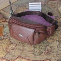 Genuine cinghia cintura in vita borsa uomo viaggio telefono sacchetto portafoglio moda marchio messenger borse a tracolla di Fanny Pack petto per maschio1