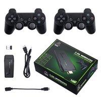 M8 TV mini HD wireless arcade joystick Nostalgic handle double FC game console family U treasure gaming consoles