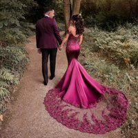Newest Evening Dresses Mermaid Off The Shoulder Appliques Lace Marriage Beads Formal Prom Gowns Robe De Soiree Custom Made