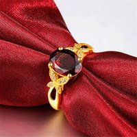 Regalo di stile di cristallo di cristallo di cristallo di rame placcato oro placcato il regalo di proposta di modo romantico regolabile