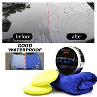 Care Products Car Wax Crystal Plating Set Hard Glossy Paint Coating Tiny Scratch Repair Maintenance With Sponge And Towel