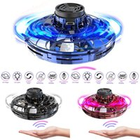 Ufo Flying Flynova Fidget Spinner Hand Operated Mini Drone Induction Aircraft Toys Quadrocopter Dron Juguetes Wholesale -40 Z1GR