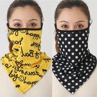 Scarves Women Print Face Scarf Winter Spring Mask Female Bandana Designer Warm Foulard Cotton Soft Neck Ring Wraps Cover 2021