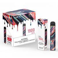 Kangvape Onee عصا المتاح vape القلم كيت 1100 مللي أمبير 1900 2200 نفث 6.2 مل خرطوشة ألفا زائد بانج XXL الهواء بار ماكس