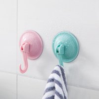 Hooks & Rails Suction Cup Strong Wall Hook For Kitchen Bathroom Hanger Washable And Removable Punch-free Seamless Sucker
