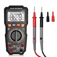 Dijital Multimetre Test Cihazı LED NCV LCD Multitester Probları Gerilim Ölçer El AC DC Ampermetre Ohm Kapasitör Voltmetre