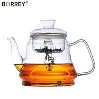 Borrey Induction Cuisinière à gaz Poêle à gaz Universal résistant à la chaleur Théière à la vapeur et en ébullition Multifonctionnel 210724