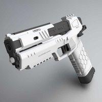Gecko Soft Bullet Pistolet Rhinocéros Launcher Garçon Enfants à la main Two Two Simovlizi Toys Guns