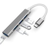 USB C HUB USB 3.0 HUB Type C Splitter USB-C 3.1 Multi Port Dock Adapter for Mac book Pro Air IMac PC Computer Accessories