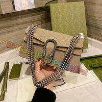 2021 Diseñadores de Lujos Ladies Messenger Bags Bolso de hombro de alto grado Bolsos de Crossbody Bolsos Mujeres Clásico Vintage Moda Monedero Monedero Monedero Flap Billet