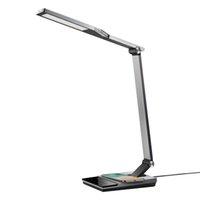 TAOTRONICS-LED-Schreibtischlampe mit schnellem kabelloser Ladegerät5V / 2A USB-Anschluss