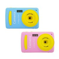 어린이 내구성 실용적인 1600 만 픽셀 소형 홈 디지털 카메라 휴대용 컬러 카메라 어린이 소년 소녀 선물