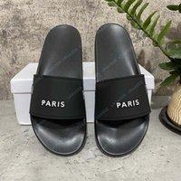 Hohe Qualität Männer Frauen Sommer Gummi Sandalen Strand Slide Mode Rasterhaus Hausschuhe Indoor Schuhe Größe EUR 35-45 mit Box 28