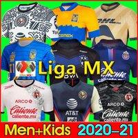 LIGA MX 21 22 Club America Soccer Jerseys Leon Troisième 2021 2022 Camisetas Tijuana Tigres Unam Chivas Cruz Azul 3ème Kit Kit de football