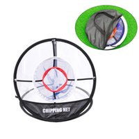 Golf Training Aids 1pc Chipping Net Three Layers Collapsible Durable Premium Up Golfing Target For Outdoor Indoor