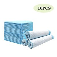 10PS / PAD PET-luiers Super absorberende hondentraining urine pad voor puppy reiniging Deodorant plassen justitie kleding