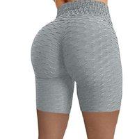 Formation de 2021 Femmes Pantalons courts Lulu Legging Jacquard Bubble Yoga Tenues de Yoga Sports Fitness HIP Échantillonnage Échantillonnage Eau Shorts Courts Leggings 01