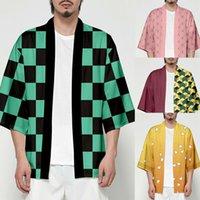 Unisex Demon Slayer Kimetsu no Yaiba Characters Cosplay Kimono Haori Coat Shirt Cosplay Costumes