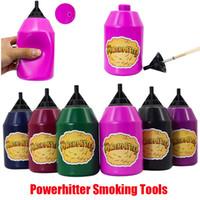 Инструменты для курения Powerhitter E-сигареты Аксессуары Глава Hitter Party Puffs Шарики сжимают травяной ингалятор Spacer Ecig Smoke Бутылка для нескольких людей