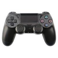 무선 블루투스 게임 패드 조이스틱 컨트롤러 PS4 PC 컨트롤러 용 로고 없음 베어 메탈