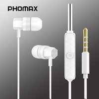 Headphones & Earphones PHOMAX1.2 M Wired Earphone 3.5mm In Ear With Call Line Control High Sound Quality Strong Bass Universal Round Hole An