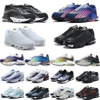 air vapormax tn plus 3 Laufende TN-Schuhe plus Männer Frauen Mens Sunset Triple Black Weiß Spiel Royal Arbeit Blau Trainer-Sport-Turnschuh-freies Verschiffen-Größe 36-45