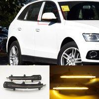 1 Pair LED Dynamic Turn Signal Side Mirror Light For Audi Q5 SQ5 8R 2010 2011 2012 2013 2014 2015 2016 2017 Q7 SQ7 4L Facelift 10-15
