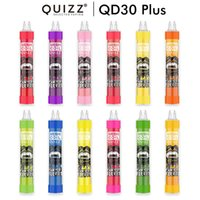 Quizz QD30 Vape Pen E Sigara Tek Kullanımlık Cihazı ile 4000 Puffs 650 mAh Pil 11 ml Pod Kartuş Buhar Seti 12 Renkler